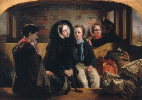 Abraham_Solomon_First_class,_the_Meeting_Second_class,_the_Parting_1854