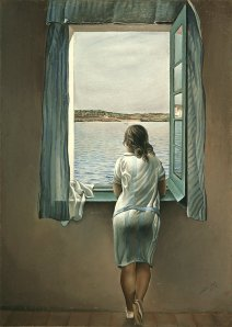 Dali_Woman at Window